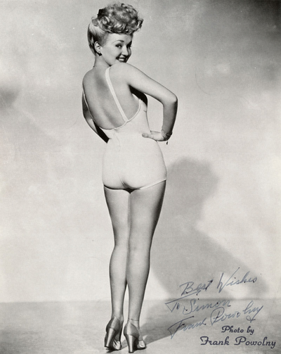 Betty Grable i les seves famoses cames